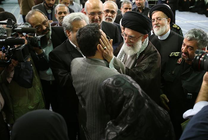 (تصاویر) دیدار جانبازان با رهبرانقلاب