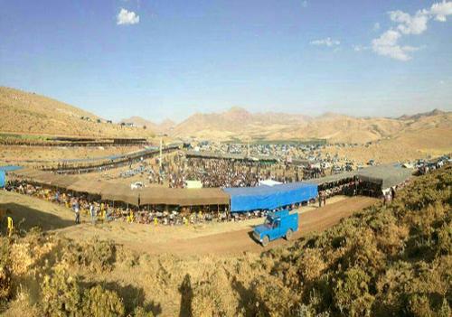 عروسی در کردستان با ۸هزار مهمان و ۸ میلیارد کادو+(تصاویر)