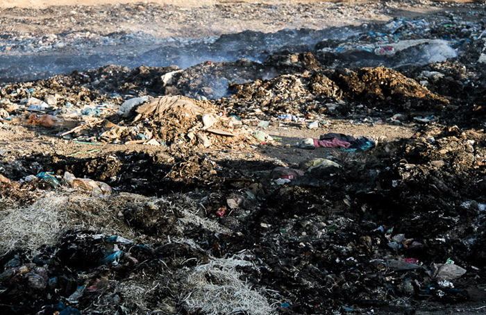 (تصاویر) روستایی که محل زبالهسوزی شد