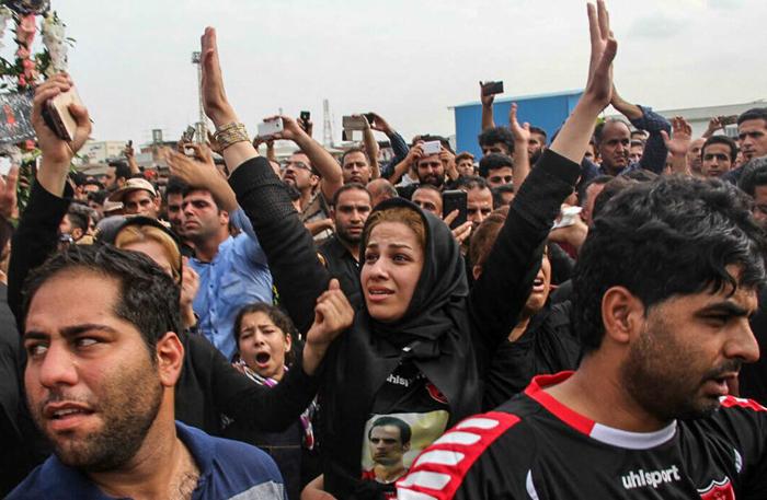 (تصاویر) تشییع هادی نوروزی در بابل