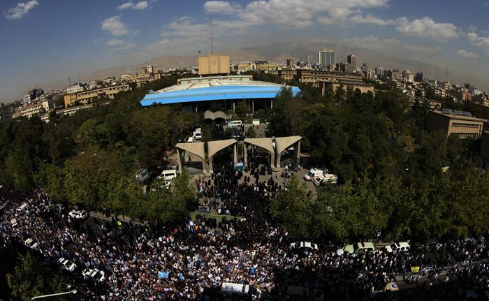 (تصاویر) تشییع جانباختگان منا در تهران