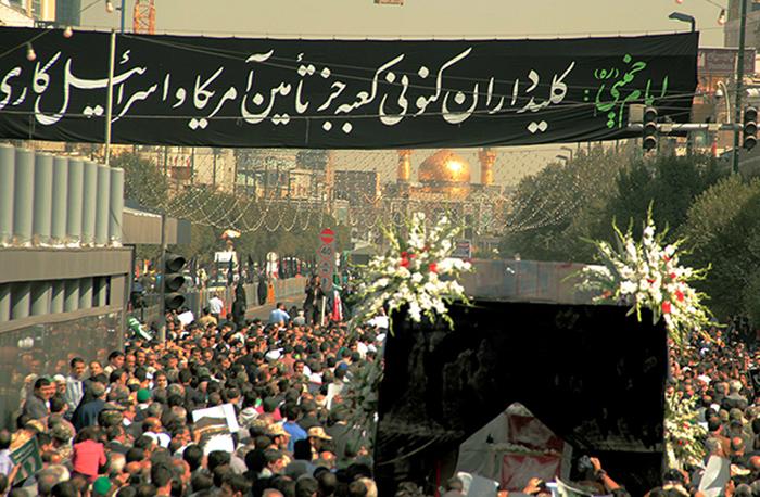(تصاویر) خاکسپاری جانباختگان منا در استانها