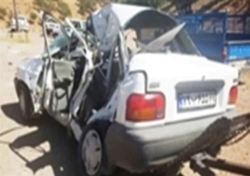 (تصویر) تصادف مرگبار خودروی کونگفوکاران