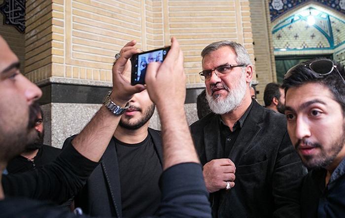 (تصاویر) مجلس ترحیم هادی نوروزی