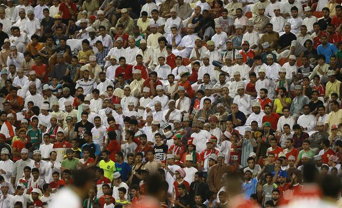 (تصاویر) حواشی دیدار ایران و عمان