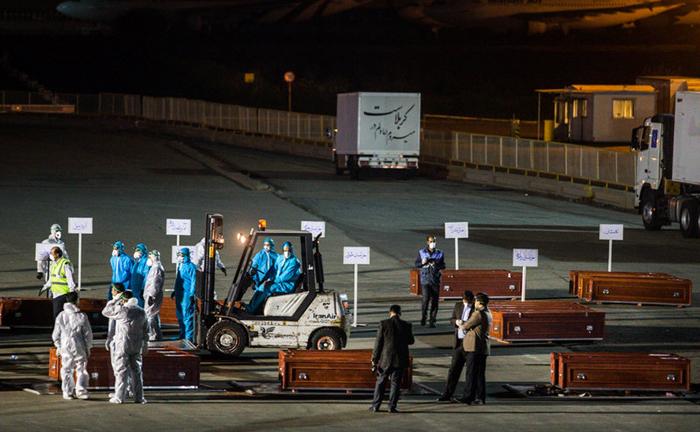 (تصاویر) ورود پیکر 87 حاجی دیگر به کشور