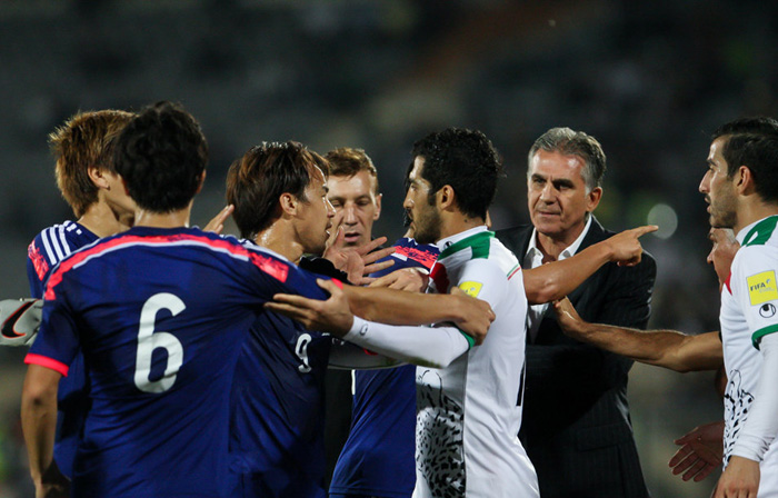 (تصاویر) حواشی دیدار ایران و ژاپن