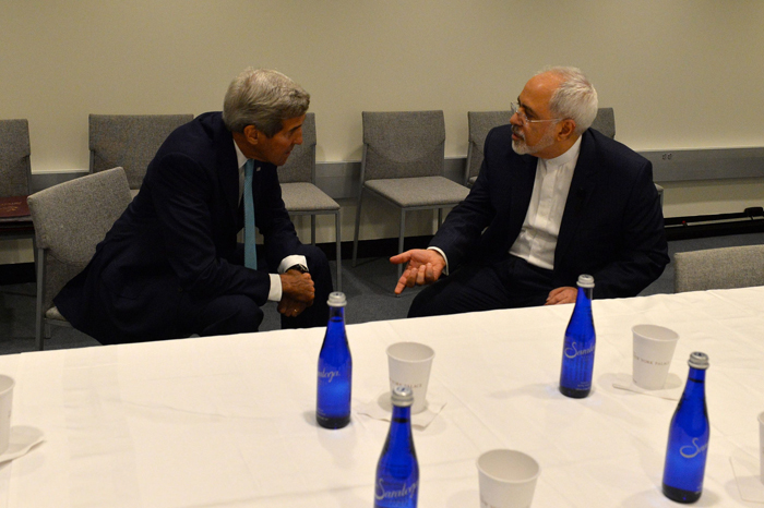 (تصاویر) دیدار ظریف و کری در نیویورک
