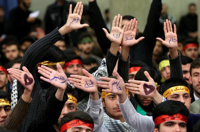 (تصاویر) دیدار دانشآموزان و دانشجویان با رهبر انقلاب
