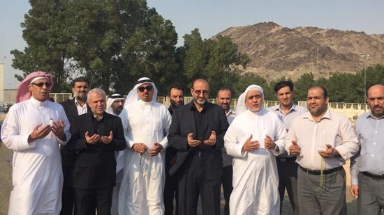 (تصاویر) مقبره جانباختگان ایرانی فاجعه منا در مکه
