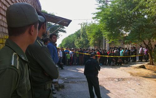 (تصاویر) پنهانکردن جسد برادر در چاه فاضلاب