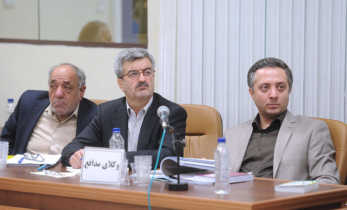 (تصاویر) دادگاه ششم بابک زنجانی