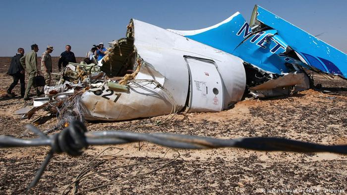 انتشار عکس قوطی حاوی بمب در هواپیمای روسی