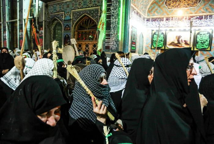 (تصاویر) دسته عزاداری زنان آستانهاشرفیه