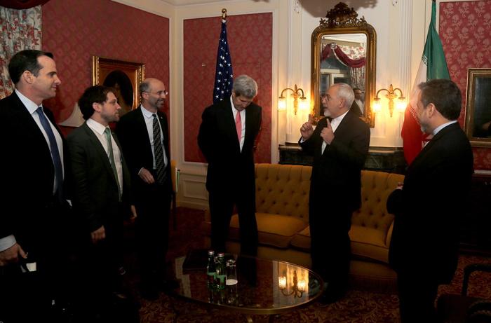 (تصاویر) کری به دیدار ظریف رفت