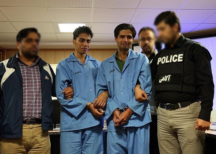 (تصاویر) دستگیری سارقان مسلح طلافروشی