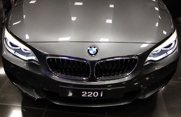 (تصاویر) رونمایی BMW سری 2 در ایران