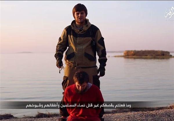 داعش یک گروگان روس را اعدام کرد
