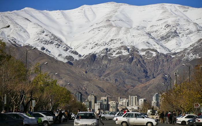 (تصاویر) هوای پاک تهران