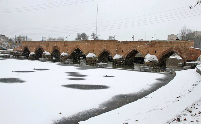 (تصاویر) بارش برف در سراسر کشور