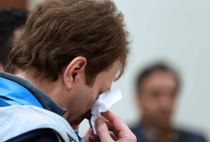 (تصاویر) بابک زنجانی به گریه افتاد