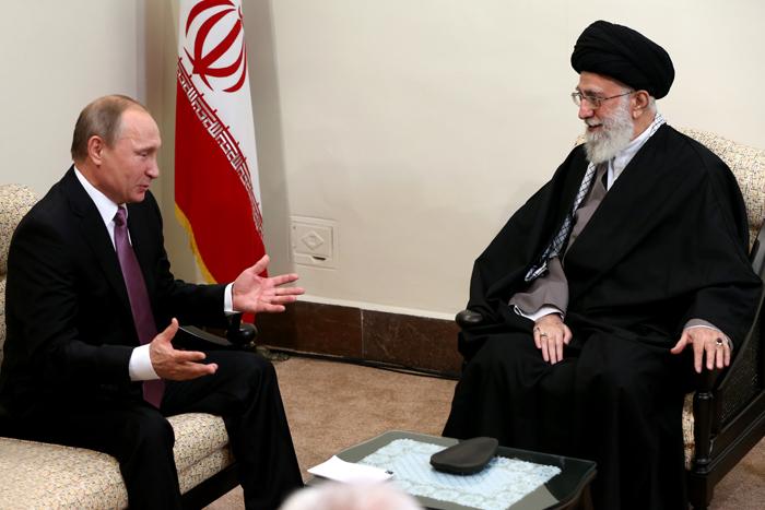 (تصاویر) دیدار پوتین با رهبرانقلاب