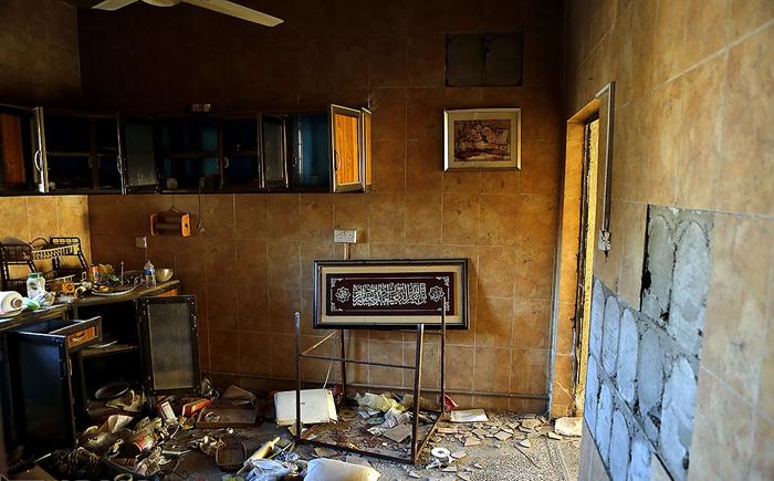 (تصاویر) مناطق آزادشده از دست داعش