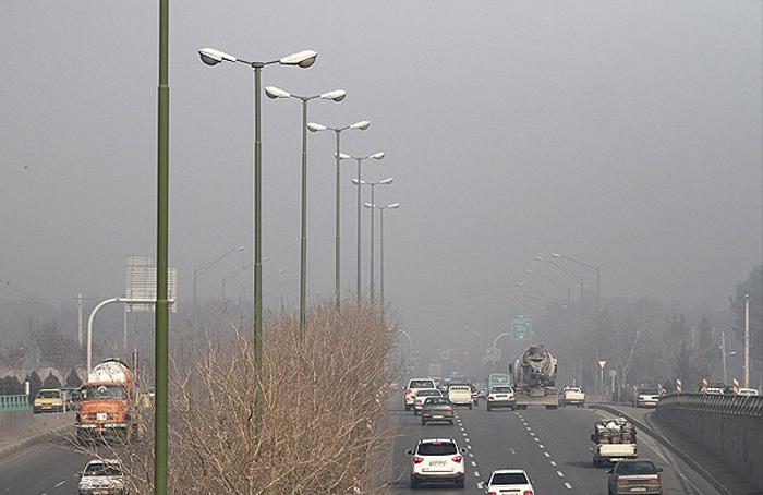 (تصاویر) آلودگی هوا در اصفهان