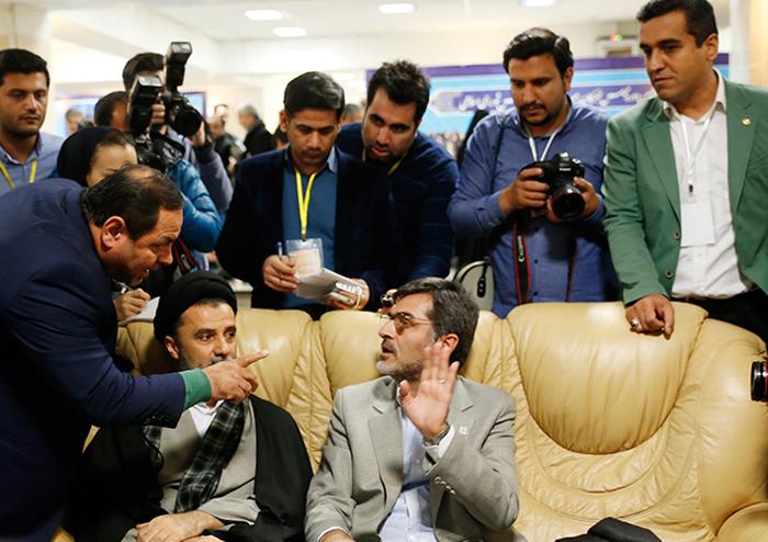 (تصاویر) ثبت نام کوچکزاده و نبویان در انتخابات