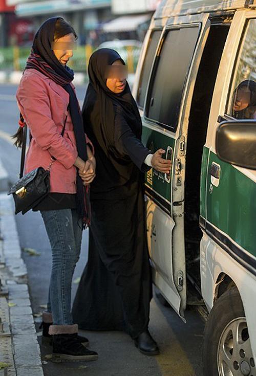(تصاویر) طرح جدید برخورد با بدحجابی