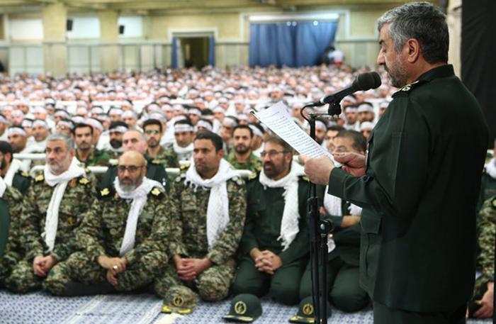 (تصاویر) دیدار فرماندهان بسیج با رهبرانقلاب