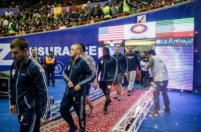 (تصاویر) جشن قهرمانی کشتیگیران ایران