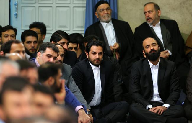(تصاویر) دیدار مداحان با رهبر انقلاب