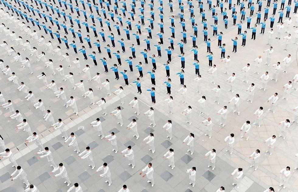 (تصاویر) نظم شگفتانگیز چینیها