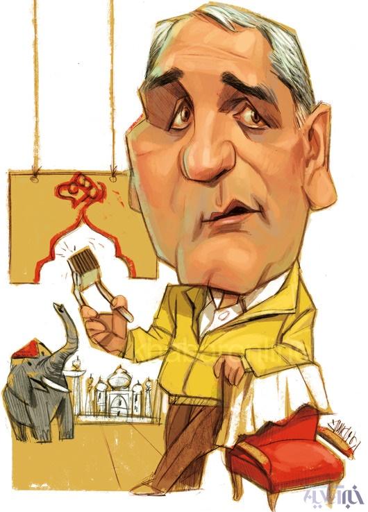 (کاریکاتور) آرایشگاه مهران مدیری!