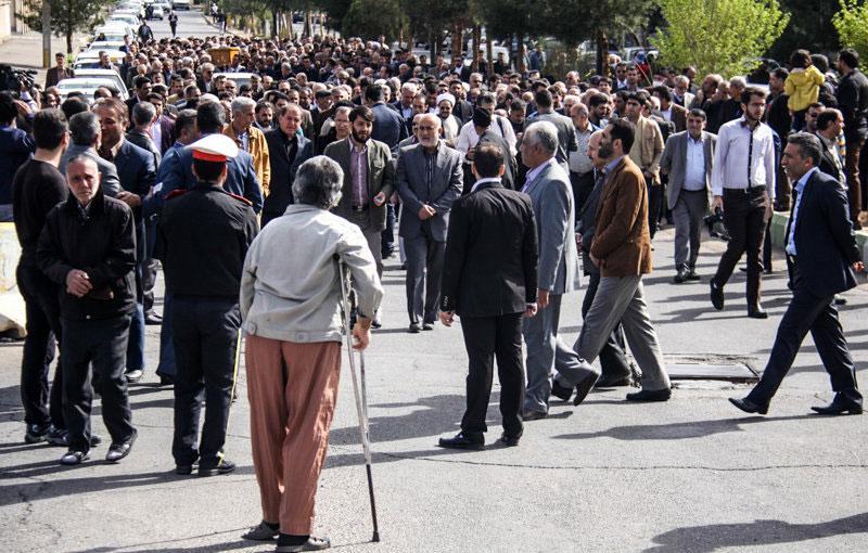 همسر حسن روحانی عکس مراسم ختم ساره خاتون پیوندی خانواده حسن روحانی اخبار سمنان