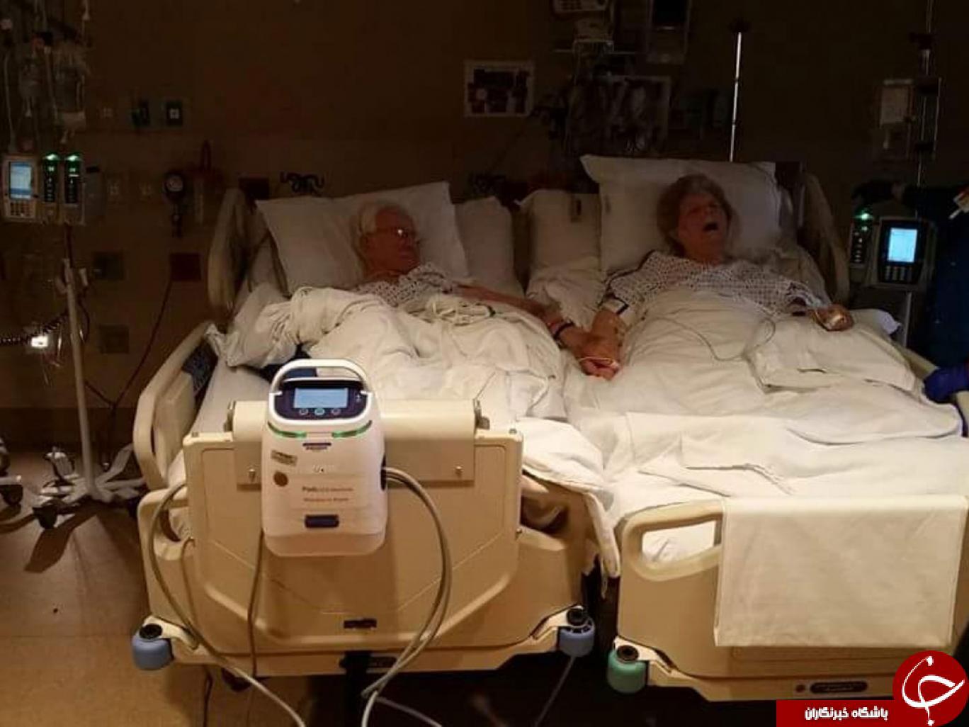 (تصاویر) مرگ رمانتیک یک زوج