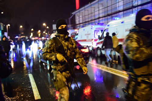 35 کشته و 40 زخمی در حمله به کلوپ شبانه در استانبول