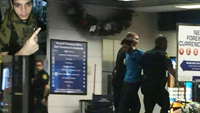 (تصویر) عامل تیراندازی در فرودگاه فلوریدا