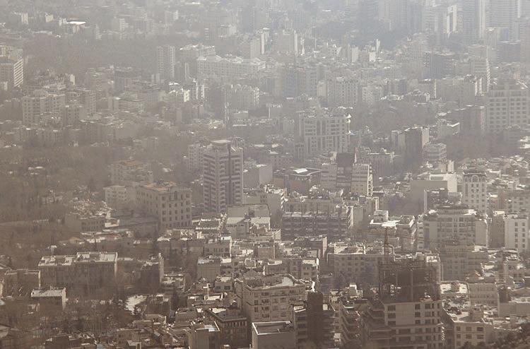 (تصاویر) آلودگی هوای تهران