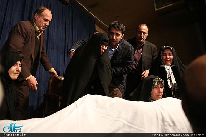 (تصاویر) انتقال پیکر هاشمی به جماران