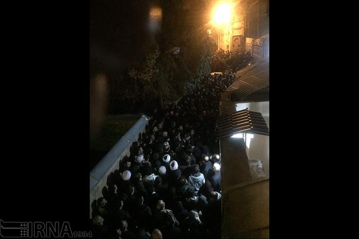 (تصاویر) تجمع مردم در جماران