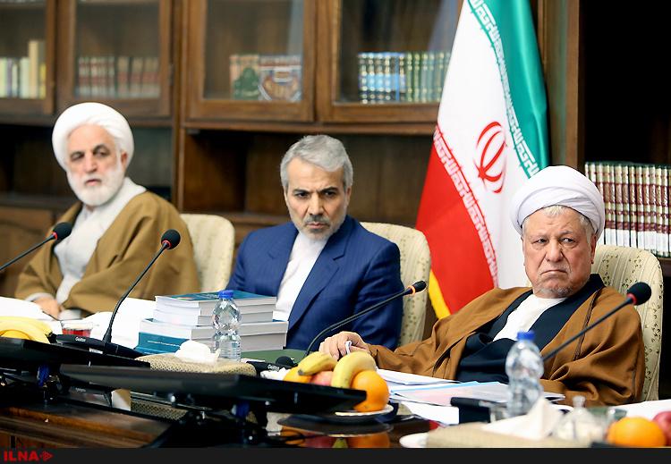 (تصاویر) آخرین نشست مجمع به ریاست هاشمی