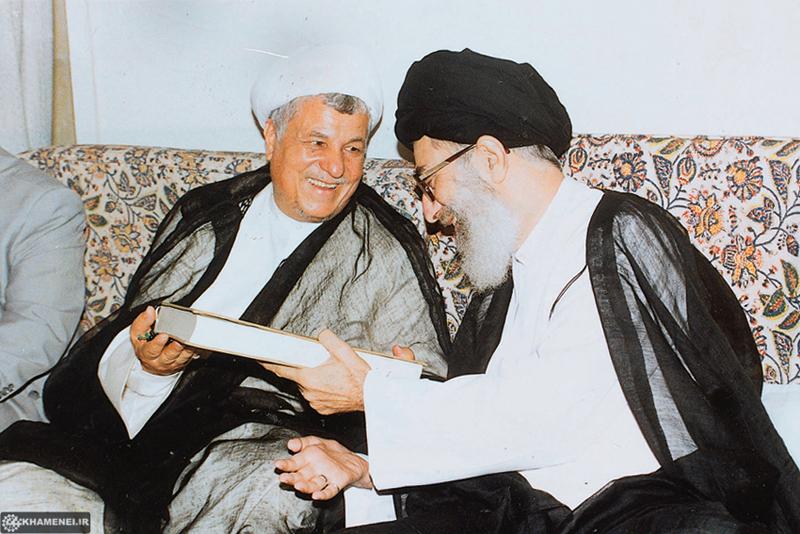 (تصاویر) هاشمی و رهبرانقلاب