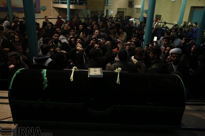 (تصاویر) عزاداری دیشب در جماران