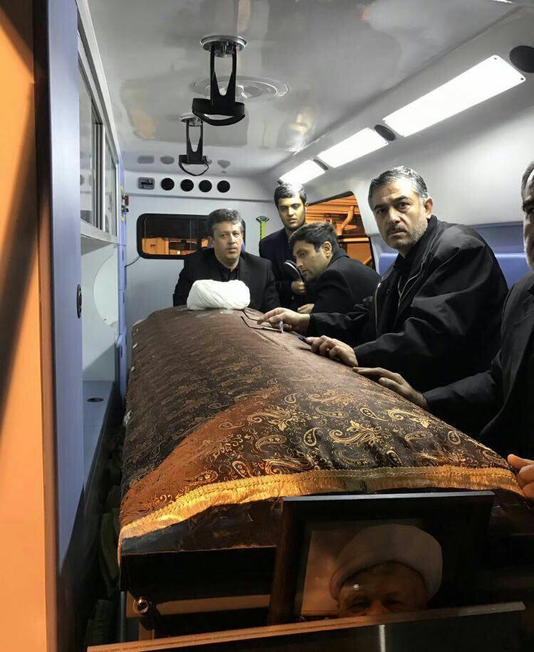 (تصاویر) آغاز مراسم تشییع آیتالله هاشمی