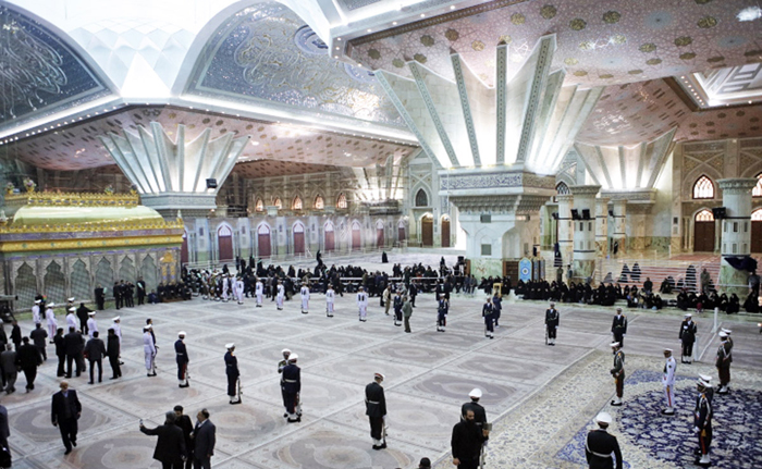 (تصاویر) حرم امام(ره) آماده پیکر هاشمی