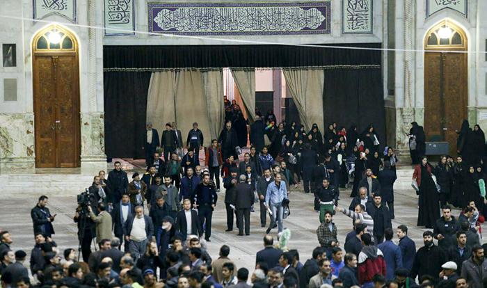 (تصاویر) حرم امام(ره) منتظر پیکر هاشمی