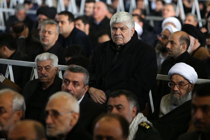(تصاویر) نماز رهبرانقلاب بر پیکر