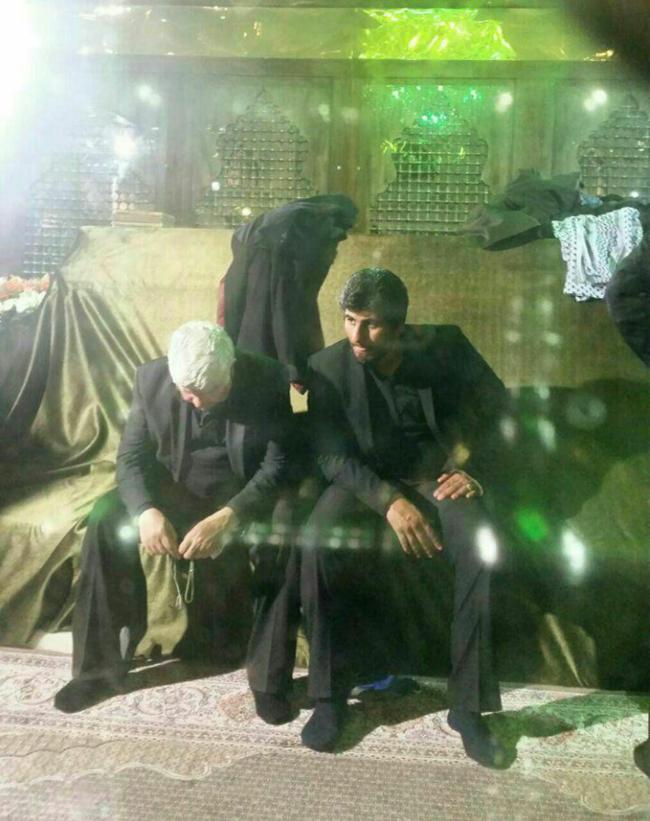 (تصاویر) مراسم خاکسپاری آیتالله هاشمی